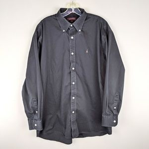 Nordstrom | Black Button Down Shirt - W3